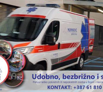 Sanitetski prijevoz | Krankentransport: Sanitet Muminovic - Dostupni za cijelu Evropu